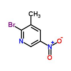 2-Bromo-3-methyl-5-nitropyridine