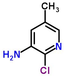 2-chloro-5-methylpyridin-3-amine CAS:34552-13-1