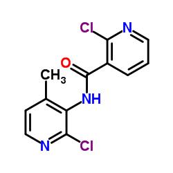 2-Chloro-N-(2-chloro-4-methylpyridin-3-yl)nicotinamide CAS:133627-46-0