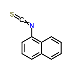 1-naphthyl isothiocyanate CAS:551-06-4
