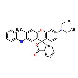2'-anilino-6'-(diethylamino)-3'-methylspiro[2-benzofuran-3,9'-xanthene]-1-one CAS:29512-49-0