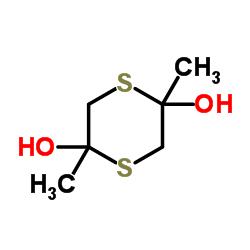 2,5-Dimethyl-1,4-dithiane-2,5-diol CAS:55704-78-4