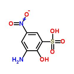 3-Amino-2-hydroxy-5-nitrobenzenesulfonic Acid CAS:96-67-3