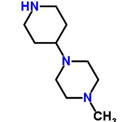1-METHYL-4-(PIPERIDIN-4-YL)-PIPERAZINE CAS:53617-36-0