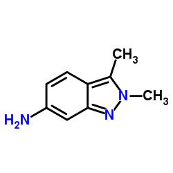 2,3-Dimethyl-2H-indazol-6-amine CAS:444731-72-0