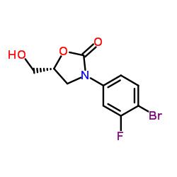 (R)-3-(4-Bromo-3-fluorophenyl)-5-(hydroxymethyl)oxazolidin-2-one CAS:444335-16-4