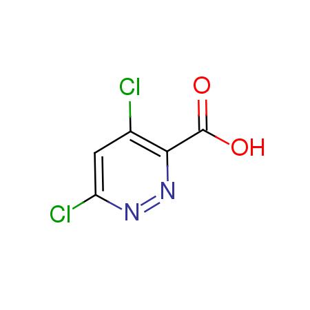 4,6-dichloropyridazine-3-carboxylic acid CAS:1040246-87-4