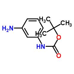 tert-butyl N-(3-aminophenyl)carbamate CAS:68621-88-5