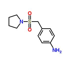 1-((4-Aminobenzenemethane)sulfonyl)pyrrolidine CAS:334981-10-1