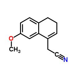 2-(7-Methoxy-3,4-dihydronaphthalen-1-yl)acetonitrile CAS:861960-34-1