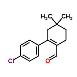 2-(4-Chlorophenyl)-4,4-dimethyl-1-cyclohexene-1-carboxaldehyde CAS:1228837-05-5