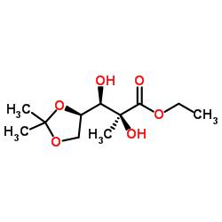 에틸 (2S, 3R) -3-[(4R) -2,2- 디메틸 -1,3- 디옥 솔란 -4- 일] -2,3- 디 하이드 록시 -2- 메틸 프로 파노 에이트