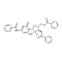 (2'R)-N-Benzoyl-2'-deoxy-2'-fluoro-2'-methylcytidine 3',5'-dibenzoate CAS:817204-32-3