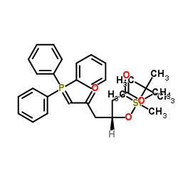 메틸 (3R) -3- (tert- 부틸 디메틸 실릴 옥시) -5- 옥소 -6- 트리 페닐 포스 포라 닐리 덴 헥사 노 에이트
