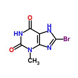 8-Bromo-3-methyl-1H-purine-2,6(3H,7H)-dione CAS:93703-24-3