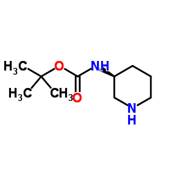 tert-butyl N-[(3S)-piperidin-3-yl]carbamate CAS:216854-23-8