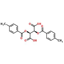 2,3-Di-O-para-toluoyl-D-tartaric acid CAS:32634-68-7