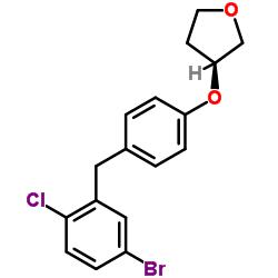 (3S) -3- [4-[(5- 브로 모 -2- 클로로 페닐) 메틸] 페녹시] 옥 솔란