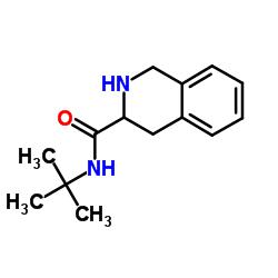 (S)-N-(tert-Butyl)-1,2,3,4-tetrahydroisoquinoline-3-carboxamide CAS:149182-72-9