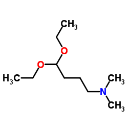 4,4-Diethoxy-N,N-dimethyl-1-butanamine CAS:1116-77-4