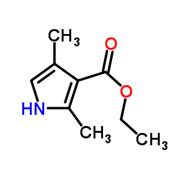 Ethyl 2,4-dimethyl-1H-pyrrole-3-carboxylate CAS:2199-51-1