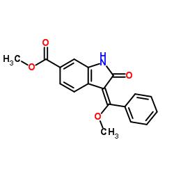 methyl (E)-3-(methoxy(phenyl)methylene)-2-oxoindoline-6-carboxylate CAS:1168150-46-6