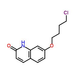7- (4-Clorobutoxi) quinolin-2 (1H) -ona
