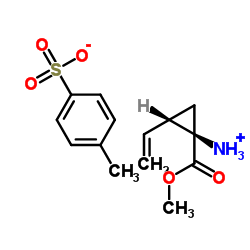 (1R,2S)-Methyl 1-amino-2-vinylcyclopropanecarboxylate 4-methylbenzenesulfonate CAS:862273-27-6