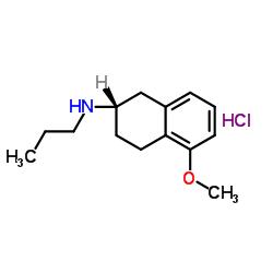 (2S)-5-methoxy-N-propyl-1,2,3,4-tetrahydronaphthalen-2-amine,hydrochloride CAS:93601-86-6