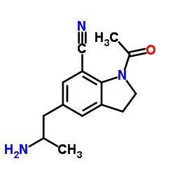 1- 아세틸 -5- (2- 아미노 프로필) -2,3- 디 하이드로 -1H- 인돌 -7- 카르보니 트릴