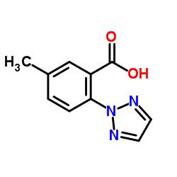 5-Methyl-2-(2H-1,2,3-triazol-2-yl)benzoic acid CAS:956317-36-5
