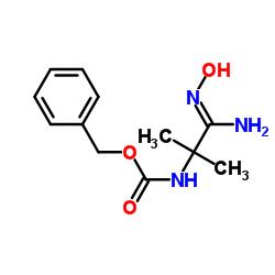 N - [(1Z) -1-amino-1-hidroxiimino-2-metilpropan-2-il] carbamato de benzilo
