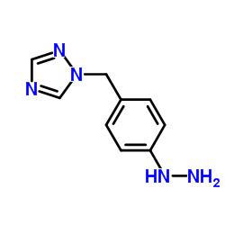1- (4- 히드라 지노 페닐) 메틸 -1,2,4- 트리아 졸