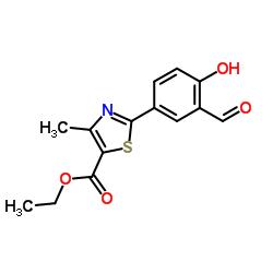 Ethyl 2-(3-formyl-4-hydroxyphenyl)-4-methylthiazole-5-carboxylate CAS:161798-01-2