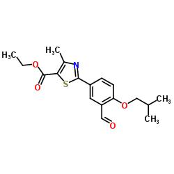 ETHYL 2-(3-FORMYL-4-ISOBUTOXYPHENYL)-4-METHYLTHIAZOLE-5-CARBOXYLATE CAS:161798-03-4