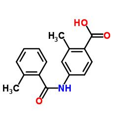 2-Methyl-4-[(2-methylbenzoyl)amino]benzoic acid
