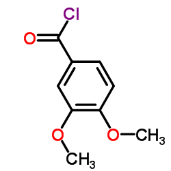 3,4-DIMETHOXYBENZOYL CHLORIDE CAS:3535-37-3
