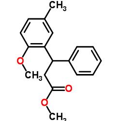 methyl 3-(2-methoxy-5-methylphenyl)-3-phenylpropanoate