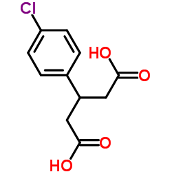3-(4-chlorophenyl)pentanedioic acid CAS:35271-74-0