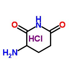 2,6-Dioxopiperidine-3-ammonium chloride CAS:24666-56-6