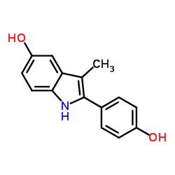 2-(4-hydroxyphenyl)-3-methyl-1H-indol-5-ol CAS:91444-54-1