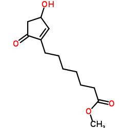 메틸 7- (3- 하이드 록시 -5- 옥소 -1- 사이클로 펜텐 -1- 일) 헵 타노 에이트