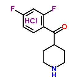 4-(2,4-Difluorobenzoyl)-piperidine hydrochloride CAS:106266-04-0