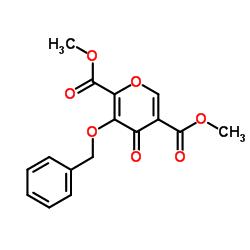 4- 옥소 -3- (페닐 메 톡시) -4H- 피란 -2,5- 디카 르 복실 산 2,5- 디메틸 에스테르