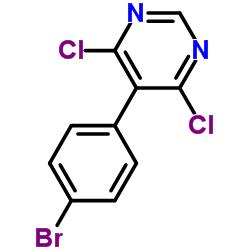 5-(4-bromophenyl)-4,6-dichloropyrimidine CAS:146533-41-7