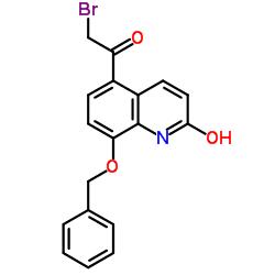 8-Benzyloxy-5-(2-bromoacetyl)-2-hydroxyquinoline CAS:100331-89-3