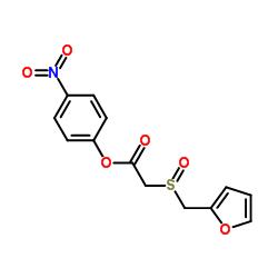p-Nitrophenyl 2-(Furfurylsulfinyl)acetate CAS:123855-55-0