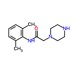 N-(2,6-Dimethylphenyl)-2-piperazin-1-ylacetamide CAS:5294-61-1