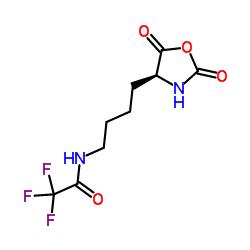 (S)-N-(4-(2,5-Dioxooxazolidin-4-yl)butyl)-2,2,2-trifluoroacetamide CAS:42267-27-6
