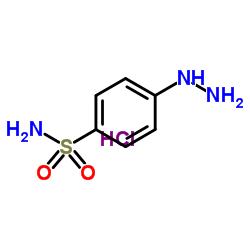 4-Hydrazinobenzene-1-sulfonamide hydrochloride CAS:17852-52-7